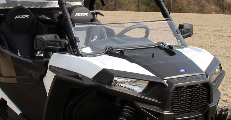 Mirror Mounts For Polaris Rzr Seizmik