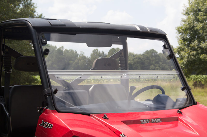 Windshield Versa Fold Hard Poly Polaris Full Size Pro