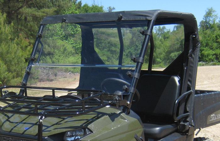 Soft Top & Rear Panel - Polaris Midsize Round Tube Ranger