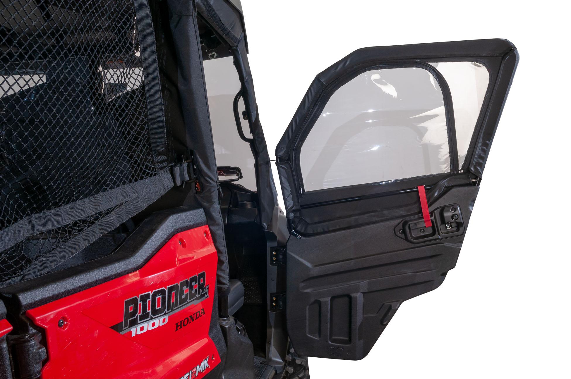 Framed 1/2 Upper Door Kit – Honda Pioneer 1000 – Seizmik