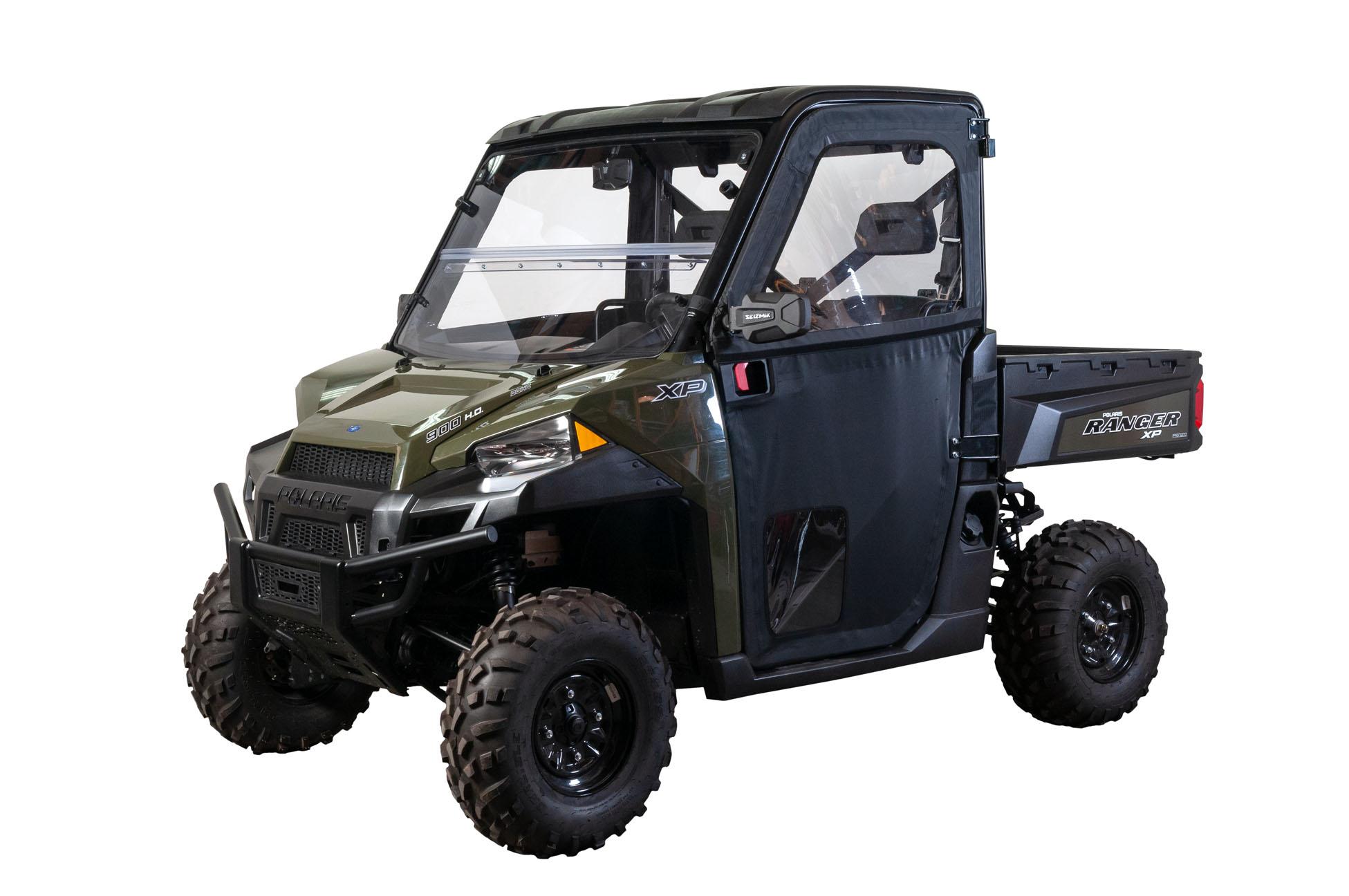 Seizmik Pro-Fit Mirror Bracket Polaris Ranger 900 1000 XP900 Pro-Fit Roll Cage