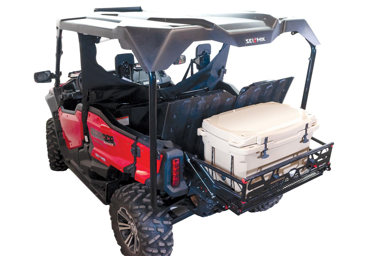 Cargo X10d Bed Extender Pioneer 1000 5 And 700 4 Seizmik